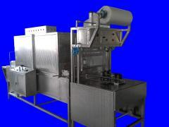 Полуавтоматична фолираща машина