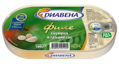 Филе скумрия в гръцки сос 180 гр.