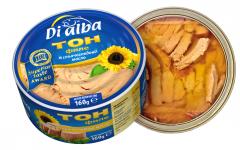 Риба тон филе в слънчогледово олио 160 гр.