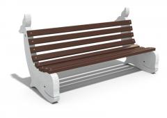 Бетонна пейка КИТ - Модел 155