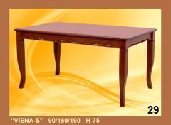 VIENA ''S'' 150x90(+40) H75