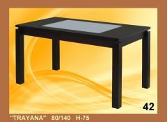 ''TRAYANA'' 140x80  H 75