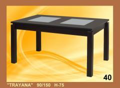 ''TRAYANA'' 150x90  H 75