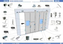 Parts and accessories for industrial doors