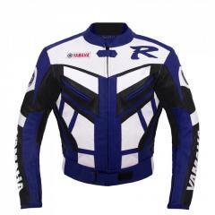Yamaha Blue Racing  Leather Jacket