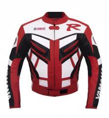 Yamaha Red Racing  Leather Jacket