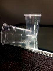 За еднократна употреба 200 мл пластмасова чаша MUG прозрачна