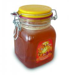 Натурален Пчелен МЕД 1кг - КЛИПС