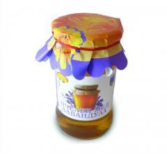 Натурален Пчелен МЕД 400 гр делва/прав буркан