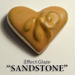 Ефектна глазура - Пясъчник