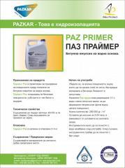 1 комп. битумный грундъ на водной основе Paz Primer