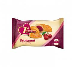 Croissant with sour cherry jam filling 55 g