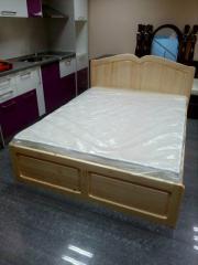 Спалня с механизъм за повдигане- Масив. Налична!