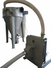 Турбо чукова дробилка с вертикален смесител за фураж