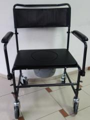 Комбиниран тоалетен стол за тежки хора