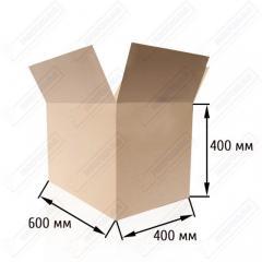 Кашон 600**400*400 мм за опаковане и съхранение на хранителни продукти, трислойни, до 15 кг.