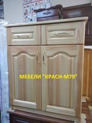 Шкаф -МАСИВ. С размери 60/50/85 см.