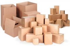 Производство на кашони по заповед за опаковане и съхранение на хранителни продукти, трислойни, до 15 кг.,
