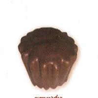 Маслени бисквити с суфле в шоколадова глазура