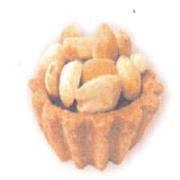 Маслени бисквити с фъстъци