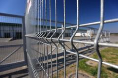 Оградни пана - поцинковани покритие