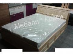 Спалня за матрак 144/190 с ракла и амортисьорен