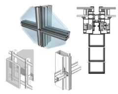Алуминиеви системи за прозорец  M3 Solar Semi