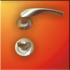 Дръжка за WC  розетка - сатен