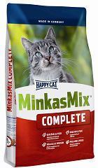 Суха храна за котки Happy cat – минкас микс с риба