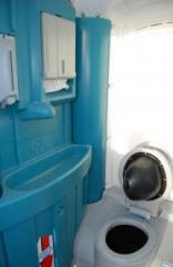 Portable WC cabins