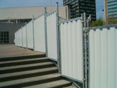 Мобилна плътна ограда тип City Fence