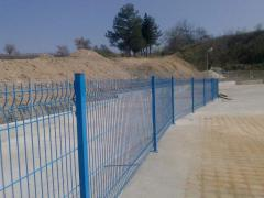 Стационарни решетъчни оградни платна и портали