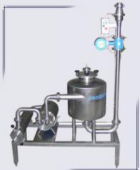 Приемна установка за мляко