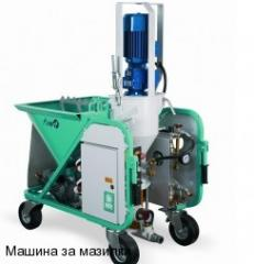Machines and equipment for building and finishing