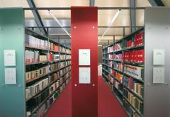 Библиотечни стелажни системи