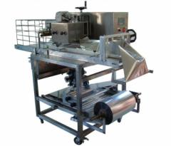 Equipment for the packaging of friable and