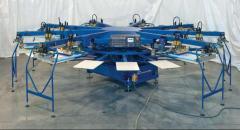 Автоматична машина за печат върху текстил