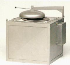 Тиглова пещ за топене на цветни метали и сплави