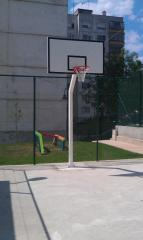 Inventory and equipment for outdoor sports grounds