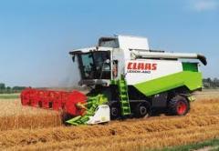 Зърнокомбайн CLAAS Lexion 460