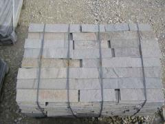 Полигонални нерязани гнайсови плочи за облицовка