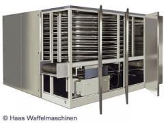 Машина за производство на вафлени изделия