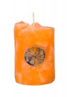 Ароматна свещ с декорации АЙСКУБ ФРУКТИНА