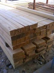 Греди, дървен материал, обработени греди