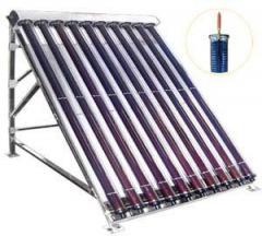 Слънчев вакуумен колектор с 10 тръби SHCMV за