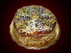 Торта карамелова