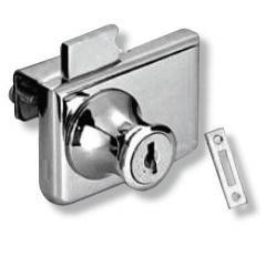 Мебелна ключалка за стъкло