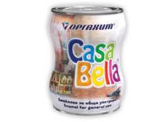 Емайллак Casa Bella алкиден - 2.5l бял