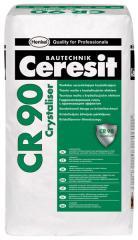 Кристализираща хидроизолационна смес за изолиране