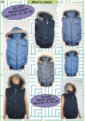Waistcoats and sleeveless jackets